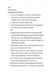 English Worksheets: year 8