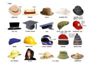 English Worksheets: The Hats