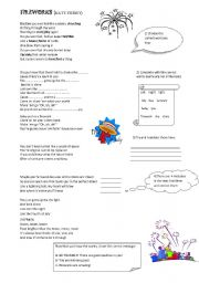 English Worksheets: katy Perry FIREWORKS