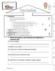 download punctuation practice worksheets pdf typo designs. Black Bedroom Furniture Sets. Home Design Ideas