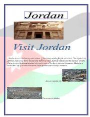 English Worksheets: Visit Jordan
