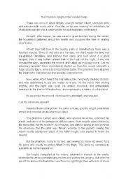 English Worksheet: Story Sequence Presentation
