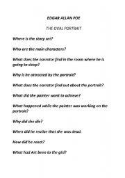 The oval portrait analysis shmoop