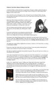 English Worksheets: Honour Killing