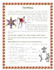 Brief history of the pinata including typical song . Breve ...