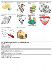 English Worksheet: Comparative and superlative game