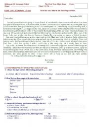 Correspondence Letter