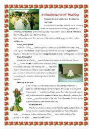 A Traditional Irish Wedding