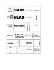 English Worksheet: Rebus puzzle