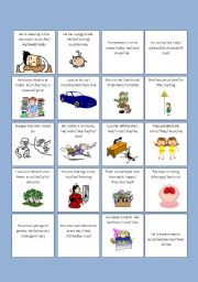 English Worksheets: DRAWING CONCLUSIONS WITH