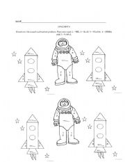 Worksheets Space Math Worksheet english worksheets space math worksheet math
