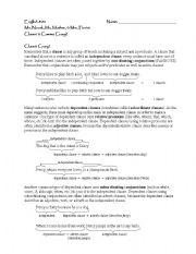 English teaching worksheets: Commas