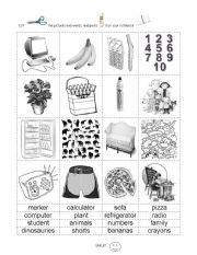 English teaching worksheets: False cognates