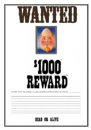 English Worksheets: Writing sheet