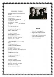 English Worksheets: Pronouns with Coldplay