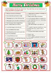 CHRISTMAS VOCABULARY (2/2)