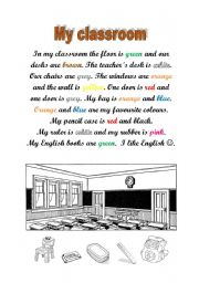 English Worksheet: Running dictation