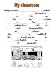 English Worksheet: Running dictation