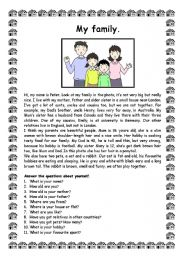 """description of my family essay Essay on """"my family"""" complete essay for class 10, class 12 and graduation and other classes about vision website inauguration function  in a way my family is the first school of civic sense for my family is the first school of civic sense for my brothers and sisters once in a week, all the members sit together and talk about certain."""