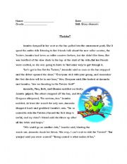 English Worksheets: Twister