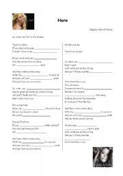 English Worksheet: Hero (Mariah Carey)