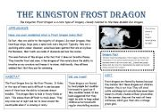 English Worksheets: Kingston Frost Dragon