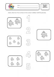 math worksheet : esl kids worksheets numbers 1 to 5 : Numbers 1 5 Worksheets Kindergarten