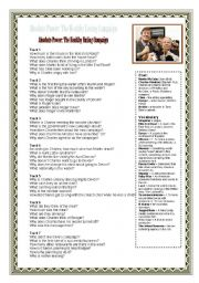 English Worksheets: Absolute Power - Healthy Eating: Listening Comprehension Worksheet
