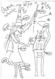 English Worksheets: winnie the witch