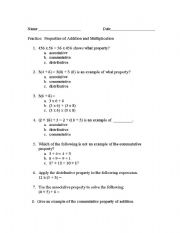 math worksheet : english teaching worksheets other worksheets : Properties Of Addition Worksheet