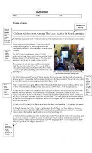 english teaching worksheets the news. Black Bedroom Furniture Sets. Home Design Ideas