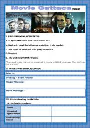English Worksheets: Movie - GATTACA