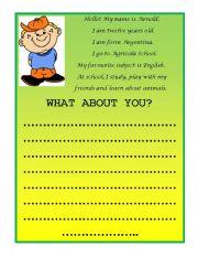 English Worksheets: Arnold