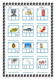 worksheet. Phoneme Segmentation Worksheets. Grass Fedjp Worksheet ...