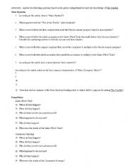 English Worksheets: The Crucible