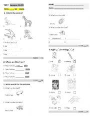english worksheets test. Black Bedroom Furniture Sets. Home Design Ideas