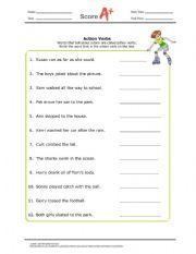 English Worksheets: Word