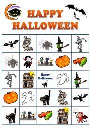 Halloween BINGO No.1