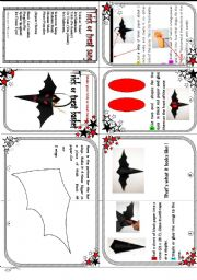 English Worksheets: A trick or treat basket ( A