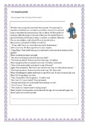English Worksheets: The businessman