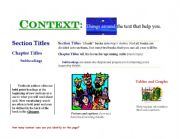 English Worksheets: Using Context Cues