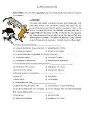 English Worksheet: Natural Resources