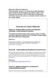 English Worksheets: English KS3