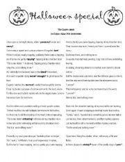halloween esl worksheet by ledelucia. Black Bedroom Furniture Sets. Home Design Ideas