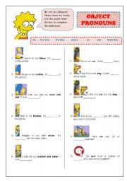 subject pronouns pdf grade 2