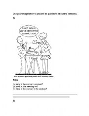 English Worksheets: Questions about the pictures
