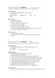 English Worksheets: More activities on Dragonfly movie