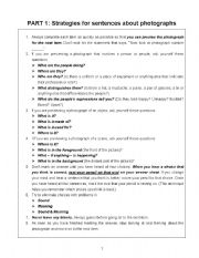 English Worksheet: listening strategies for toeic