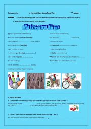 English Worksheet: everything to play for