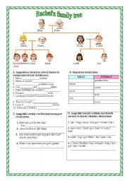 English Worksheet: 6th grade unit one and two quiz